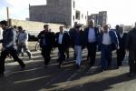 بازدید روزبه استاندار قزوین از بخش طوفان زده اسفرورین