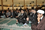 دیدار روزبه استاندار قزوین با مردم در مسجد نبی اکرم(ص) شهرک مهرگان شهرستان البرز