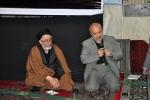 روزبه استاندار قزوین در جلسه شورای اقامه نماز در مسجد موسی بن جعفر(ع)