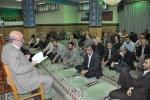 دیدار روزبه استاندار قزوین با مدیران و کارکنان جهاد کشاورزی استان قزوین