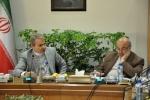 جلسه استاندار قزوین و مجمع نمایندگان استان با دکتر نوبخت