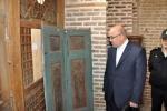 بازدید روزبه استاندار قزوین از موزه مسجد جامع