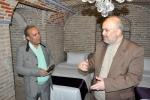روزبه استاندار قزوین در بازدید از مهانخانه بهروزی