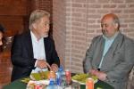 دیدار روزبه استاندار قزوین با  دبیر مجمع شهرداران جاده ابریشم