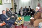 دیدار کارکنان معاونت سیاسی و امنیتی استانداری با آیت اله محمدی تاکندی