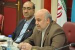 نشست خبری روزبه استاندار قزوین بمناسبت هفته دولت