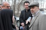 روزبه استاندار قزوین در بازدید از پروژه بنیاد شهید