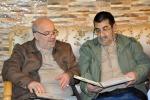 دیدار روزبه استاندار قزوین با دو جانباز سرافراز در شهر الوند