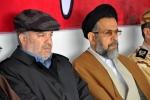 سخنرانی حجت الاسلام والمسلمین علوی وزیر اطلاعات در گلزار شهدای قزوین
