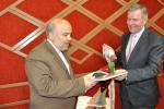 دیدار روزبه استاندار قزوین با سفیر اتریش