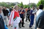 روزبه استاندار قزوین در ورزش همگانی در پارک الغدیر
