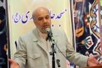 روزبه استاندار قزوین مراسم تجلیل از معلمان و کارگران در مسجد المهدی مینودر