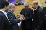 دیدار روزبه استاندار قزوین با مدیر کل سازمان بسته بندی جهانی