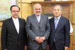 دیدار روزبه استاندار قزوین با سفیر کره