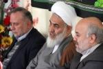 دیدار روزبه استاندار قزوین و مدیران ستادی با نماینده ولی فقیه وامام جمعه قزوین