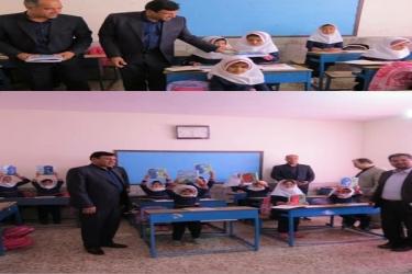 علی اکبرسلیمانی،فرماندارآوج،لوازم التحریر،توزیع,بانک کشاورزی،اهدا