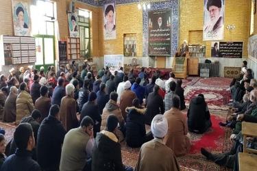 علی اکبرسلیمانی،فرماندارآوج، مراسم،یادبود،هاشمی شاهرودی