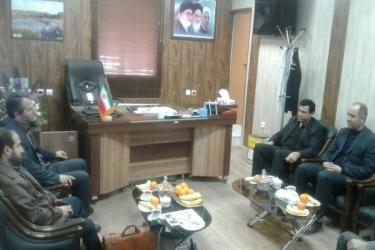 علی اکبرسلیمانی،فرماندارآوج،دیدار، پزشکی قانونی