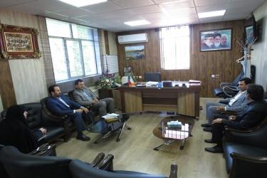 علی اکبرسلیمانی،فرماندارآوج، نشست، مدیرعامل، آبفا، شهری