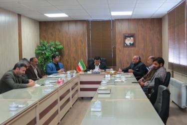 علی اکبرسلیمانی،فرماندارآوج، هفته کتاب،دیدار