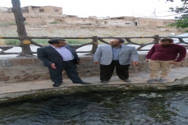 نصرت اله علیرضایی،فرماندار آوج،بازدید،آبگرم