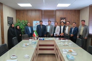 علی اکبرسلیمانی،فرماندارآوج،دیدار،هفته سلامت، کارکنان،بهداشت
