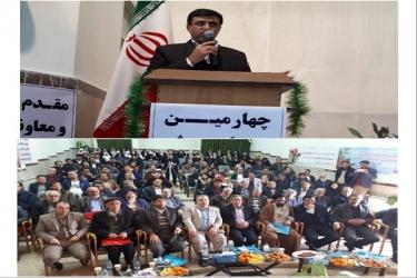 علی اکبرسلیمانی،فرماندارآوج، مجمع،خیرین،مدسه ساز