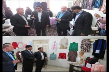 علی اکبرسلیمانی،فرماندارآوج،اختتامیه، کارگاه،خیاطی،کمیته امداد