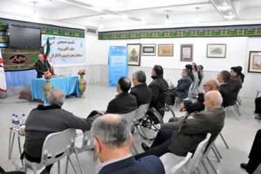 دیدار روزبه استاندار قزوین با جانبازان