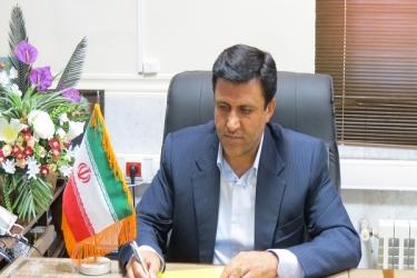 علی اکبرسلیمانی،فرماندارآوج، پیام،تسلیت، مدیرعامل،تأمین اجتماعی