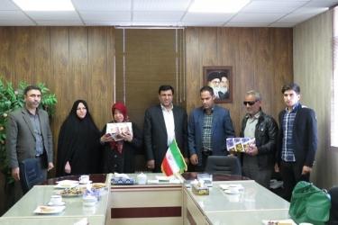 علی اکبرسلیمانی،فرماندارآوج، روز جهانی ،نابینایان